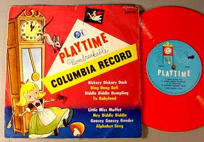 PLAYTIME 336-PV CHILDREN'S 78 RPM RECORD & SLEEVE
