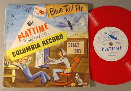 PLAYTIME 347-PV CHILDREN'S 78 RPM RECORD & SLEEVE