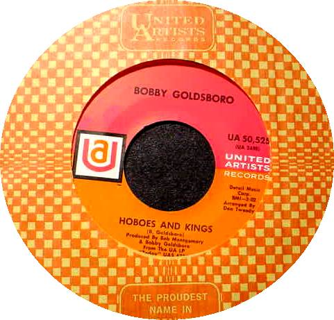 BOBBY GOLDSBORO 45 RPM Hoboes and Kings / I'm A Drifter