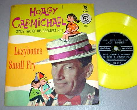 HOAGY CARMICHAEL 78 RPM & SLEEVE - Golden Record 501