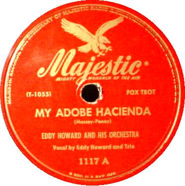 Eddy Howard - My Adobe Hacienda