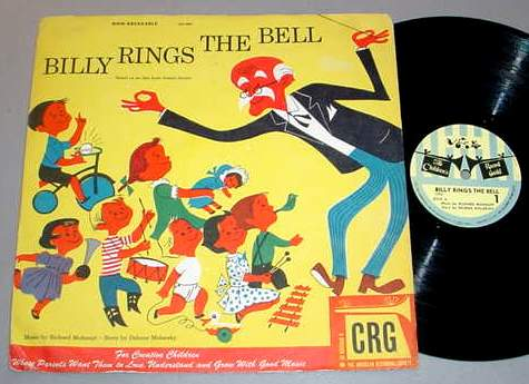 BILLY RINGS THE BELL 78 RPM & SLEEVE - CRG-5008