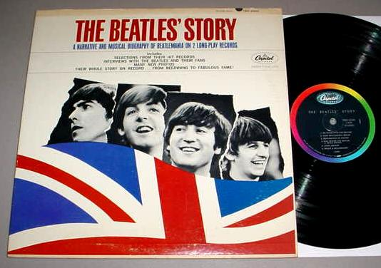BEATLES 2 LP SET - THE BEATLES' STORY Capitol TBO-2222