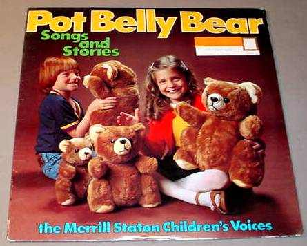 POT BELLY BEAR SONGS & STORIES SEALED LP MERRILL STATON